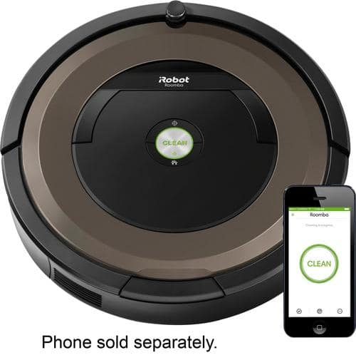 Best Buy Weekly Ad: iRobot Roomba 890 Wi-Fi Connected Robot Vacuum for $449.99