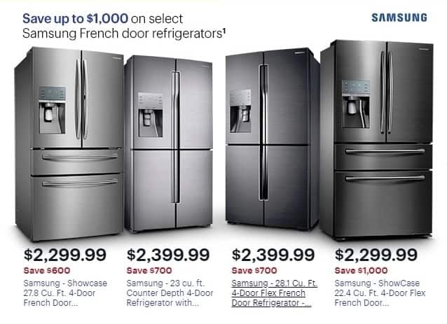 Best Buy Weekly Ad: Samsung 22.4 Cu. Ft. Showcase 4 Door French