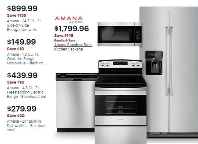 Best Buy Weekly Ad Amana 16 Cu Ft Over The Range Microwave For