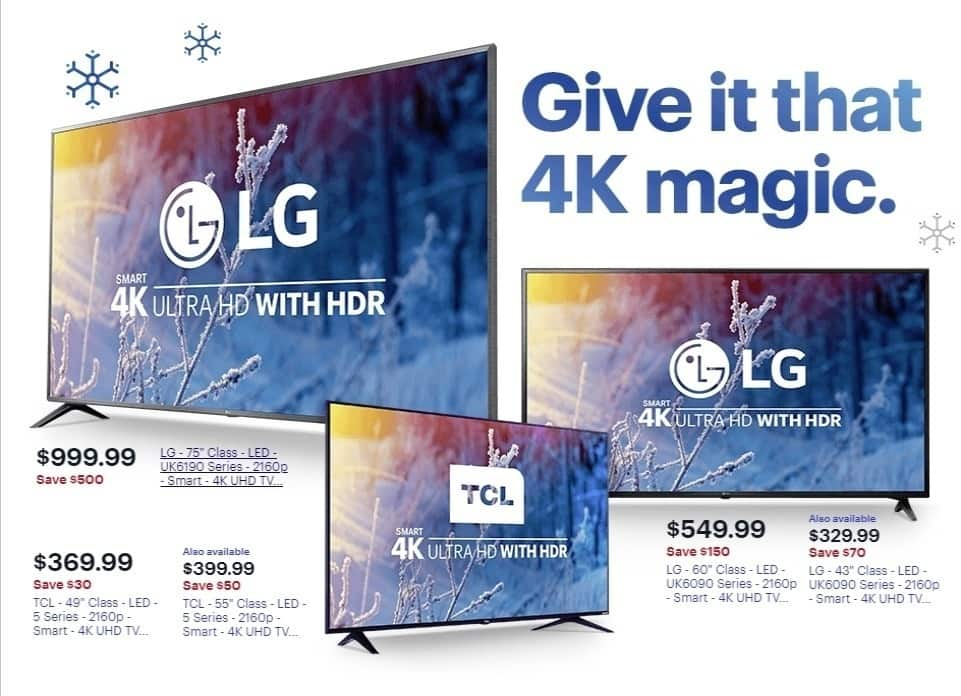 Best Buy Weekly Ad: TCL - 55