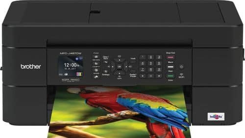 Best Buy Weekly Ad: Brother Work Smart Series MFC-J497DW Wireless AIO Printer for $49.99