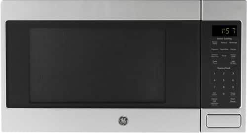 Best Buy Weekly Ad: GE - 1.6 Cu. Ft. Microwave with Sensor Cooking - Stainless steel for $129.99