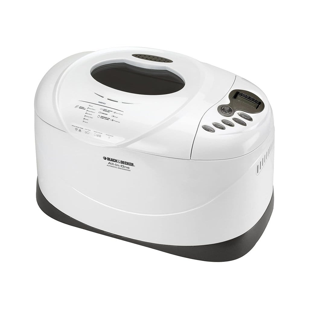 Black and Decker 3 lb Breadmaker $69.99 with Free Shipping, Refurbished $68.77