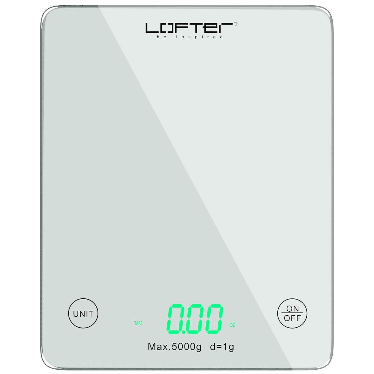 Digital Kitchen Scale with LED Display - 11lb/5KG Capacity $8.99 @ Amazon 40% off