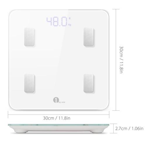 Bluetooth Digital Smart Scale w/ IOS & Android App $22.79 AC Free Ship w/ Amazon Prime