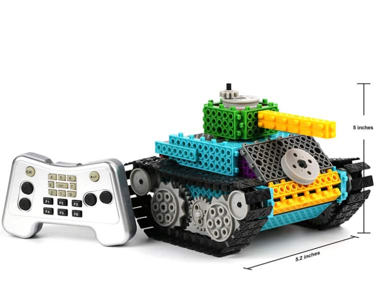 Build Your Own Remote Control Robot Tank Kit $21.99 AC Free Shipping w/ Amazon Prime