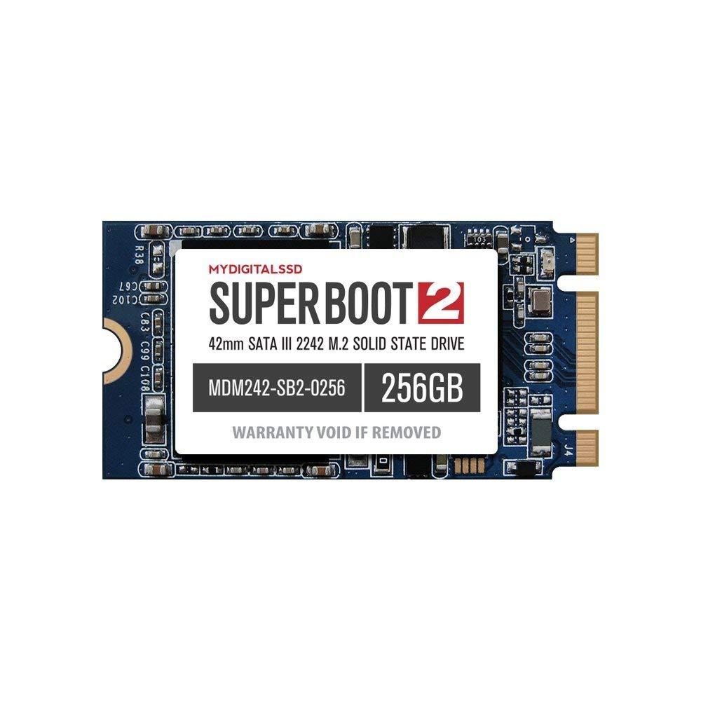 MyDigitalSSD 256GB Super Boot 2 M.2 2242 SATA SSD $60, 128GB $40
