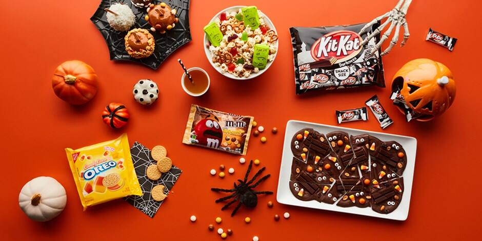 Halloween candy & treats- get $2 off $10 on select items AC @Target