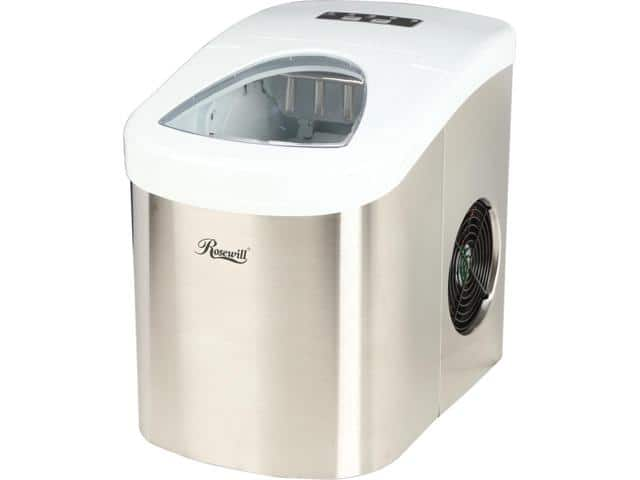 Rosewill RHIM-15001 26.50 lbs. Portable Ice Maker - Stainless Steel- $63.99 FS @newegg