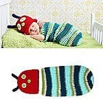 Oryer Cute Caterpillar Style Baby Infant Newborn Handmade Knit Crochet Hat - $13.99 AC + Free Shipping @ Amazon.com