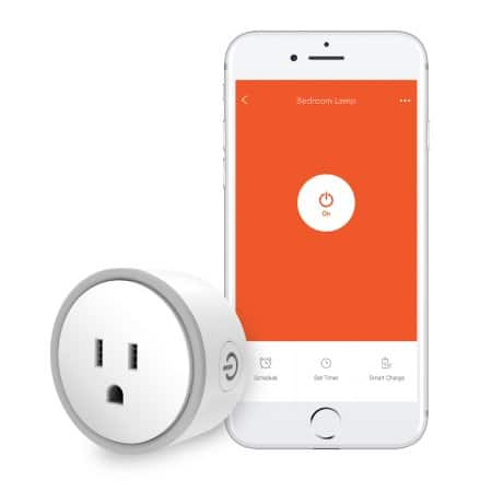 Eques Elf Smart Plug, Works with Amazon Alexa, Wi-Fi Accessible Power Outlet, Timing Function, No Hub Needed, Control with App on Phone, 2 days shipping, 20% off $23.99