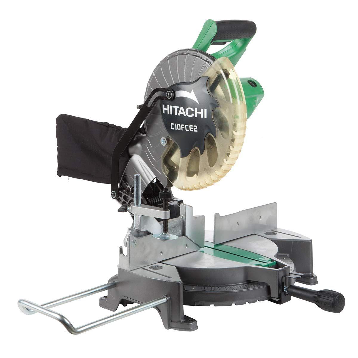 """Hitachi C10FCE2 10"""" Compound Miter Saw (Recon Grade A) $64"""