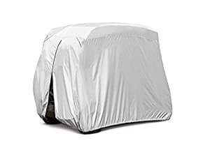 "Himal 4 passenger waterproof golf cart cover roof 80""L, fits EZ GO, Club car and Yamaha $39.83 + FS @Amazon"
