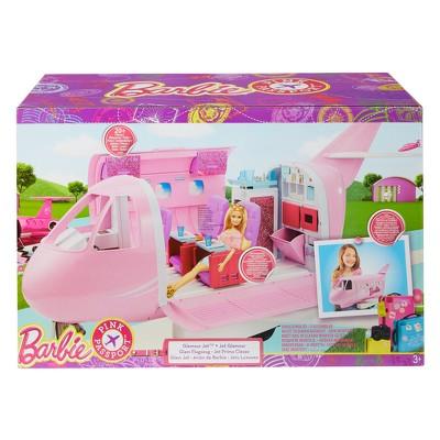 Barbie Pink Passport Glamour Jet $50