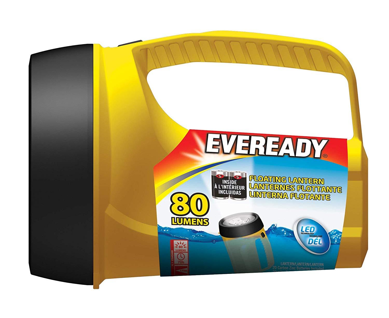 Eveready Readyflex LED Floating Lantern $3.29