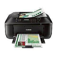 Amazon Deal: Canon - PIXMA MX472 Wireless All-In-One Printer - Black 49.99+$10 GC Free shipping