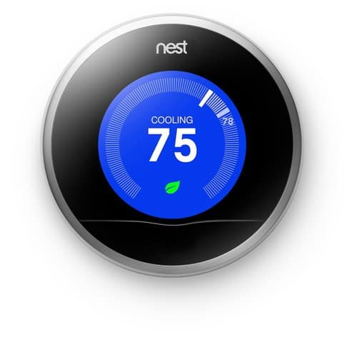Nest 2nd Generation 7-Day Learning Wi-Fi Programable Thermostat, Refurbished $139