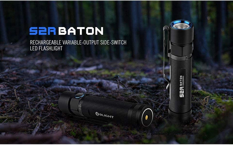 Olight S2R Baton 1020 Lumen Rechargeable Flashlight $51.06+Free shipping @Amazon