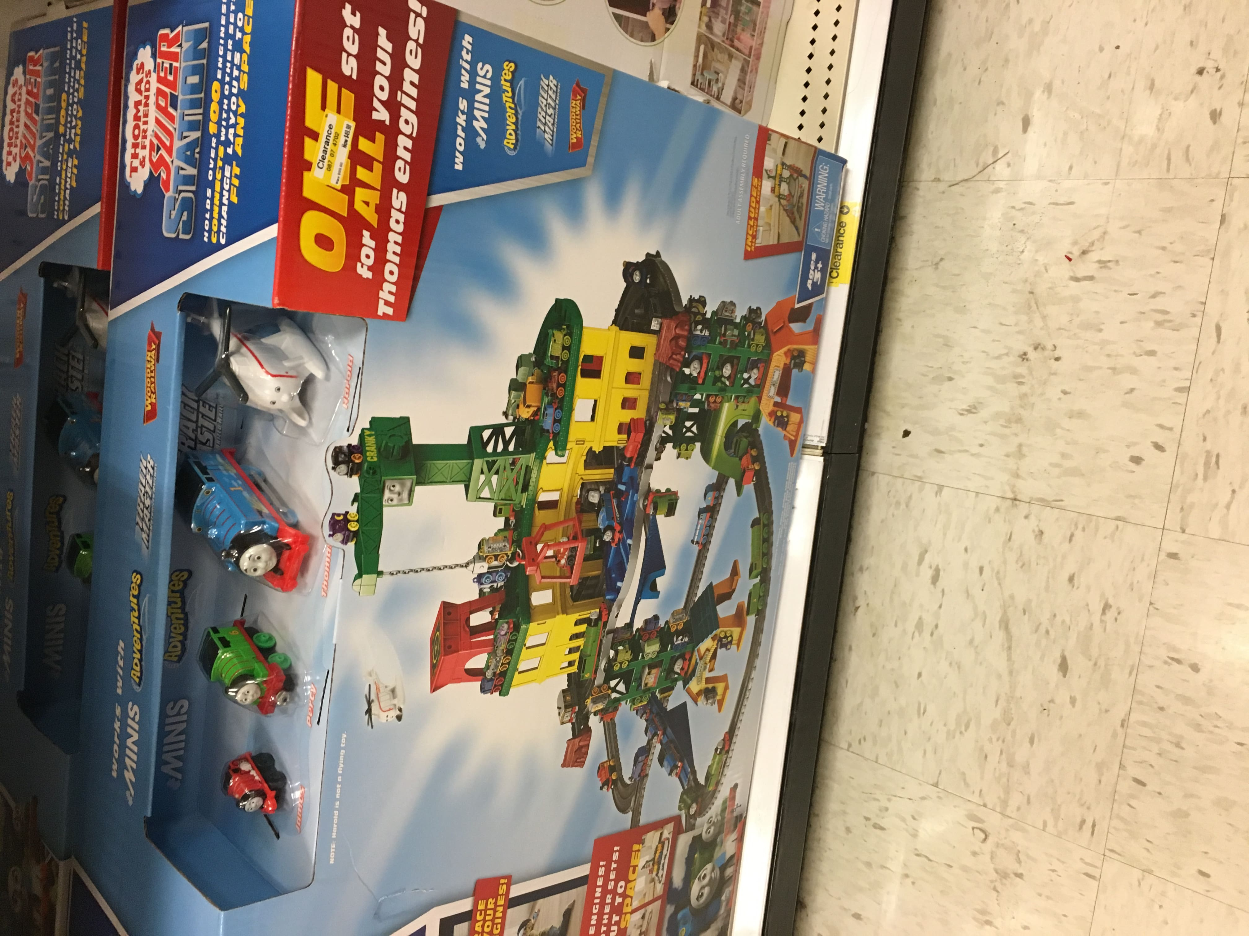 Thomas and Friends Super Station $50 @ Target B&M - YMMV