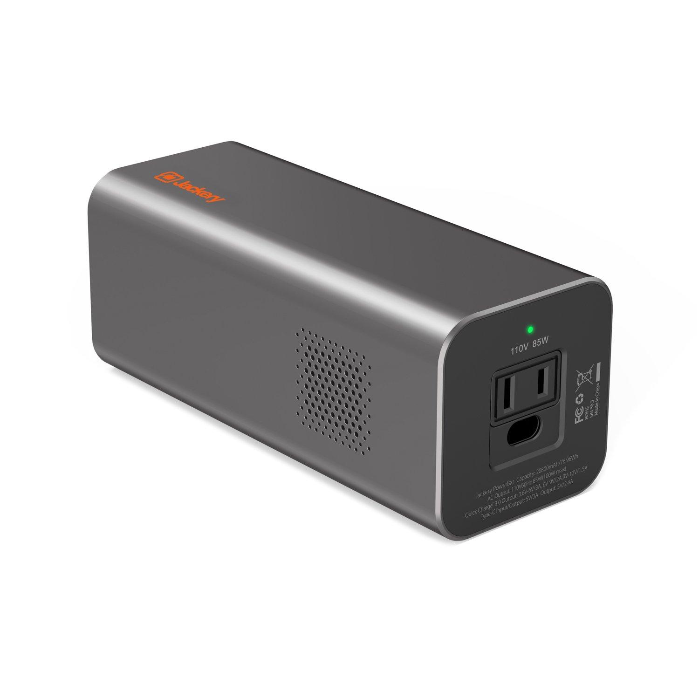 Lightning deal: Jackery PowerBar 77Wh/20800mAh 85W (100W Peak) Travel Laptop Power Bank $69.99