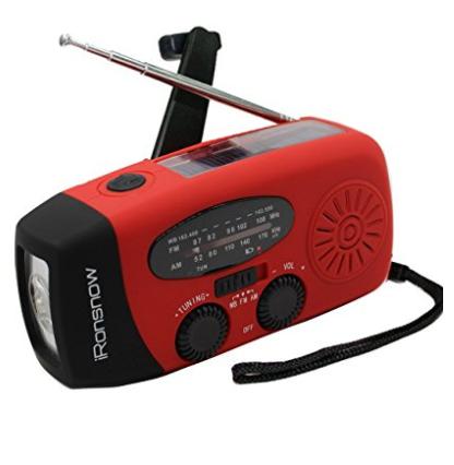 Emergency Solar Hand Crank Radio $18.69