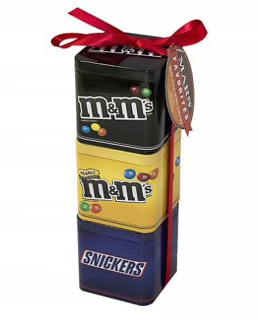 M&M's Mars 3 Pack Tin: Snickers and M&M's $2.89 @ Walgreens