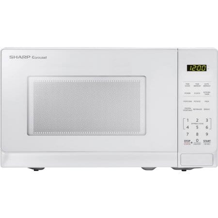 Sharp ZSMC0710BW .7 Cu Ft Microwave, White $33.35