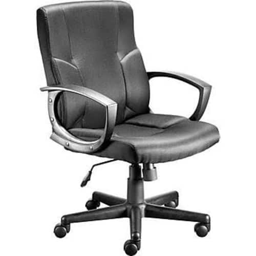 Staples Stiner Fabric Managers Chair, Black 23559 $39.99 free shipping@staples