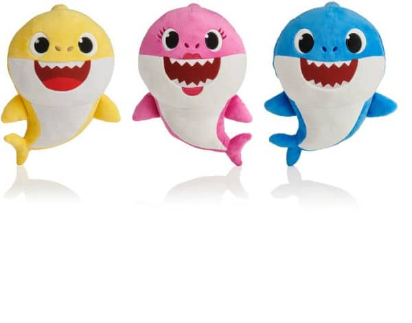 Barnes & Noble - Baby Shark Family Sound Plush (Assorted; Styles Vary) $8.49
