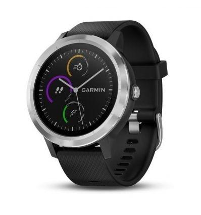 Garmin Vivoactive 3, Black w/ Stainless Hardware - Factory Refurbished  $69.99