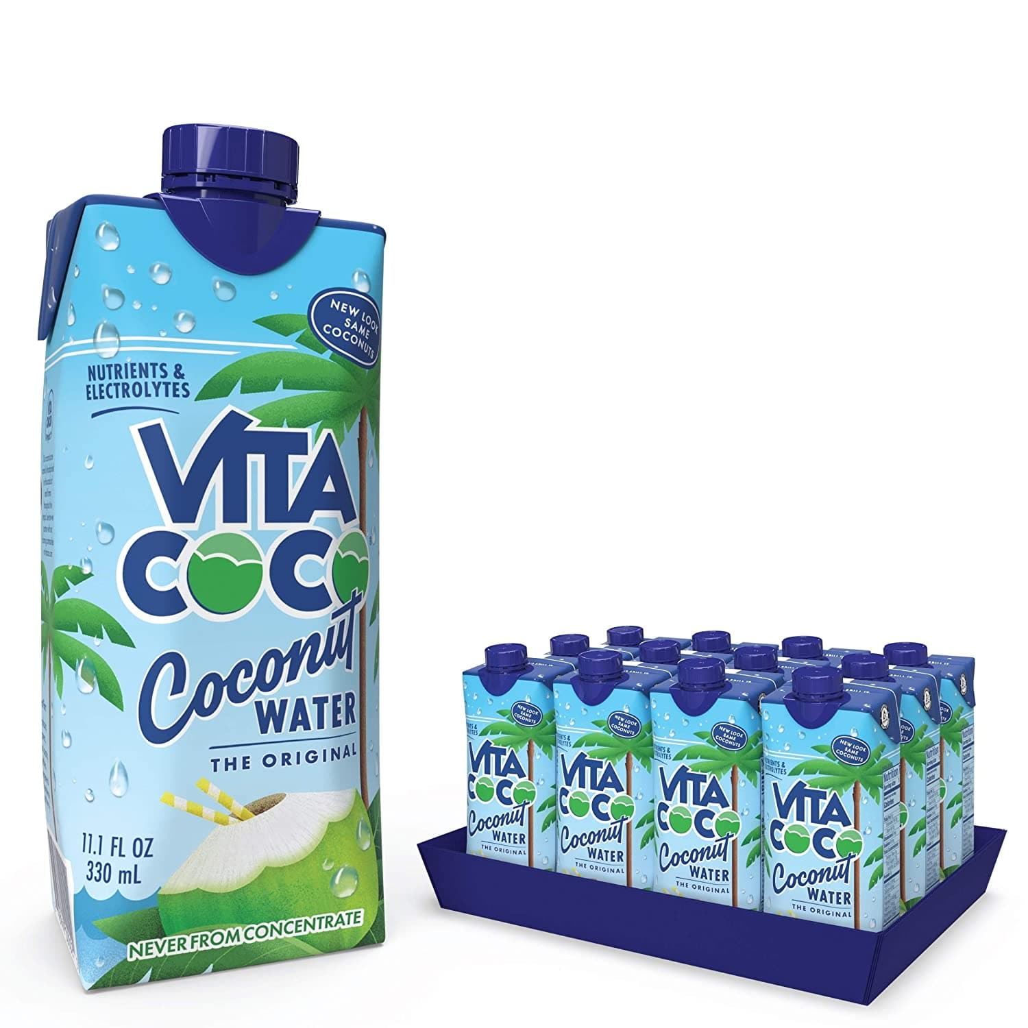 12-Pack 11.1oz. Vita Coco Pure Coconut Water $9.33 w/ Subscribe & Save