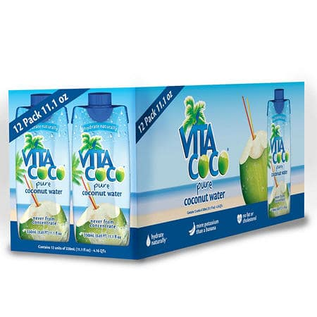 12-Pack 11.1oz. Vita Coco Pure Coconut Water $9.82 Free Shipping Sam's Club Members Only