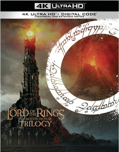 The Lord of the Rings Trilogy 4K Blu Ray $75.60