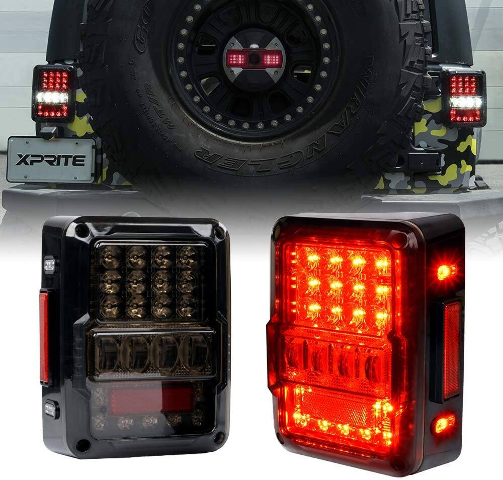 Jeep Led Rear Taillights on Sale $83.96 - Prime Members Only