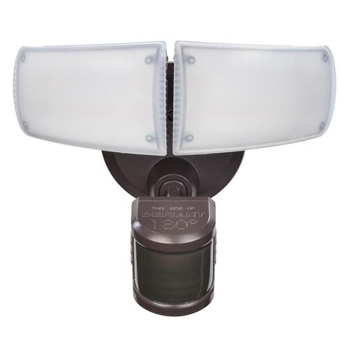 Defiant 180° Bronze Motion Activated LED Flood Light ($47.98)