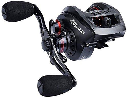 KastKing Speed Demon 9.3:1 Baitcasting Fishing Reel –12+1 Shielded Ball Bearings $48.98