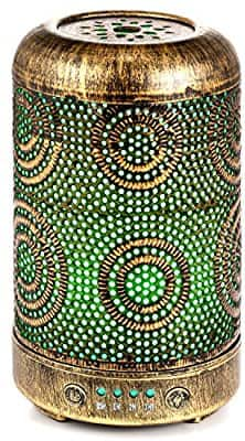 ARVIDSSON Aroma Essential Oil Diffuser Humidifer - Vintage Metal Design Style 50% off -  $16