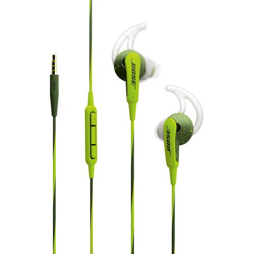 B&H PHOTO has the Bose SoundSport In-Ear Headphones-Apple Devices (Energy Green)$49.95(Reg $99.95)