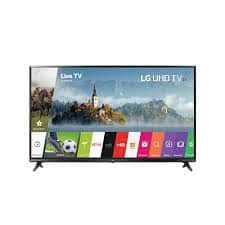 "LG UJ6300 Series 49"" LED Ultra HD 4K Smart TV with HDR for $349.97"