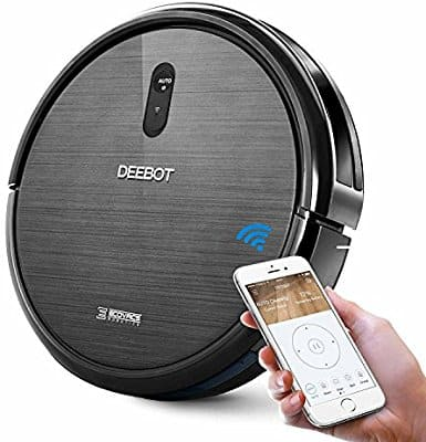 ECOVACS DEEBOT N79 Robot Vacuum Cleaner, Strong Suction, for Low-pile Carpet, Hard floor, Wi-Fi Connected $159.98
