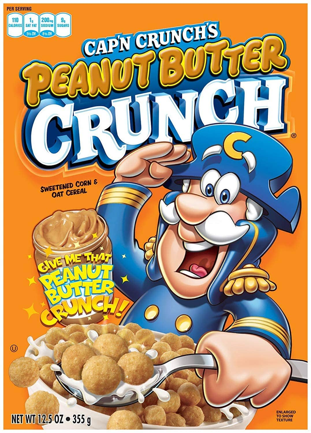 Prime Pantry Deal. Cap'n Crunch Peanut Butter Crunch Breakfast Cereal, 5 x 12.5 Ounce Box + Glade Solid Air Freshener, Clean Linen, 6 oz  $5.52 YMMV