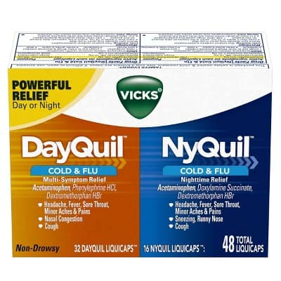 Vicks DayQuil & NyQuil Cold & Flu Combo Pack LiquiCaps Combo Pack $4
