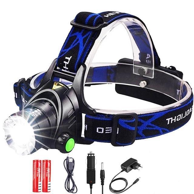 Zoomable Waterproof Head Torch flashlight Headlamp $11.95