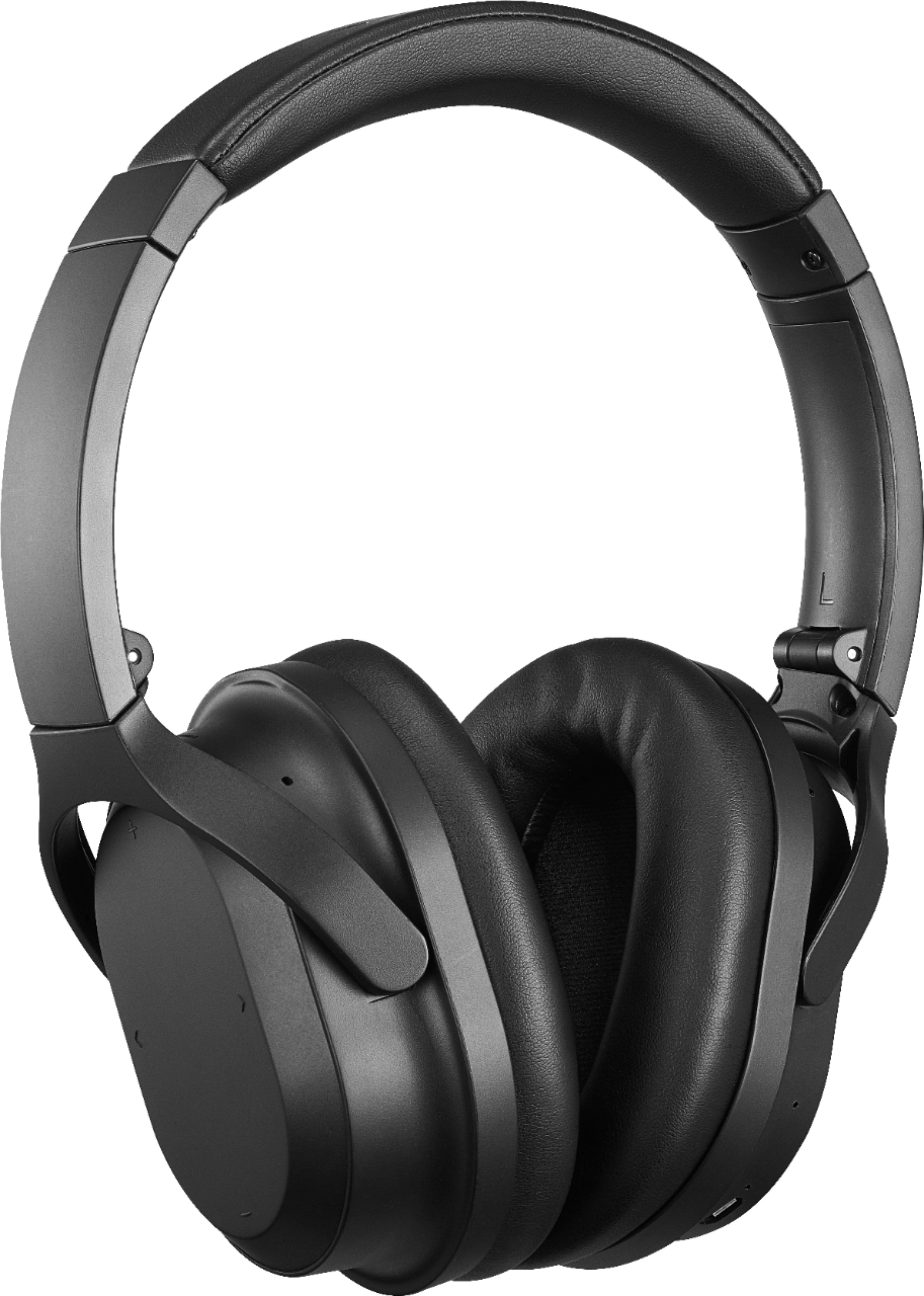 Insignia Wireless Noise Canceling Over-the-Ear Headphones $44.99