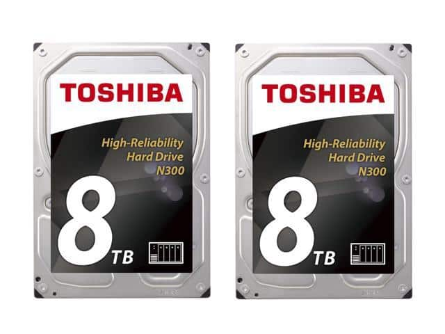 2 X 8TB Toshiba NAS Hard Drive record low price. 2 pcs combo at $399.99. and for the single pc price equals to $200