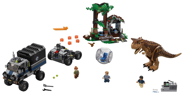 LEGO Jurassic World Carnotaurus Gyrosphere Escape 75929 $63.99