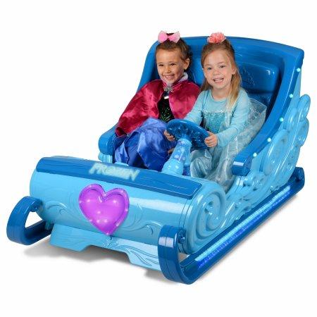 Disney Frozen 12V ride on sleigh $99 Walmart B&M YMMV
