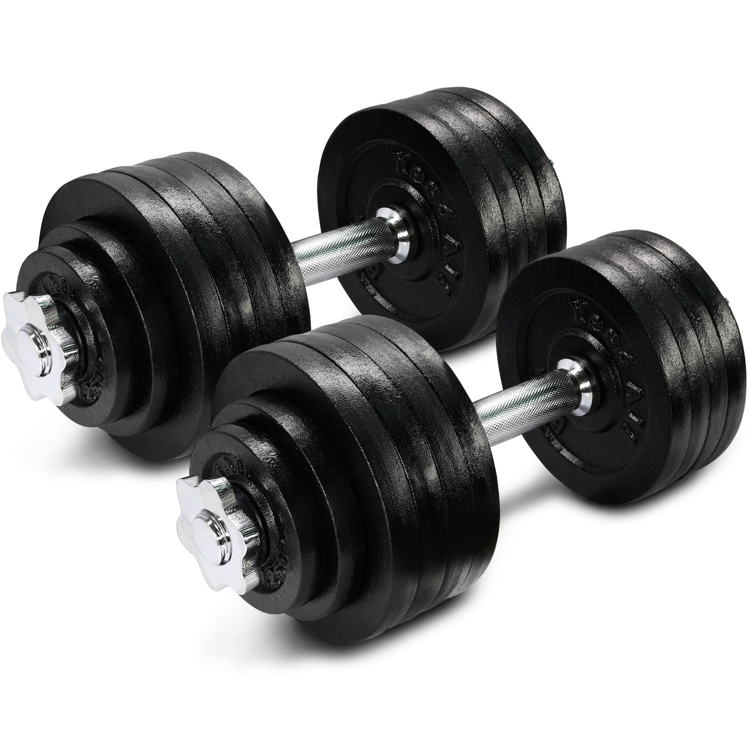 Yes4All 105 lb Adjustable Dumbbell Weight Set - Cast Iron Dumbbell (a Pair) - 109.99 + Free Shipping $109.99