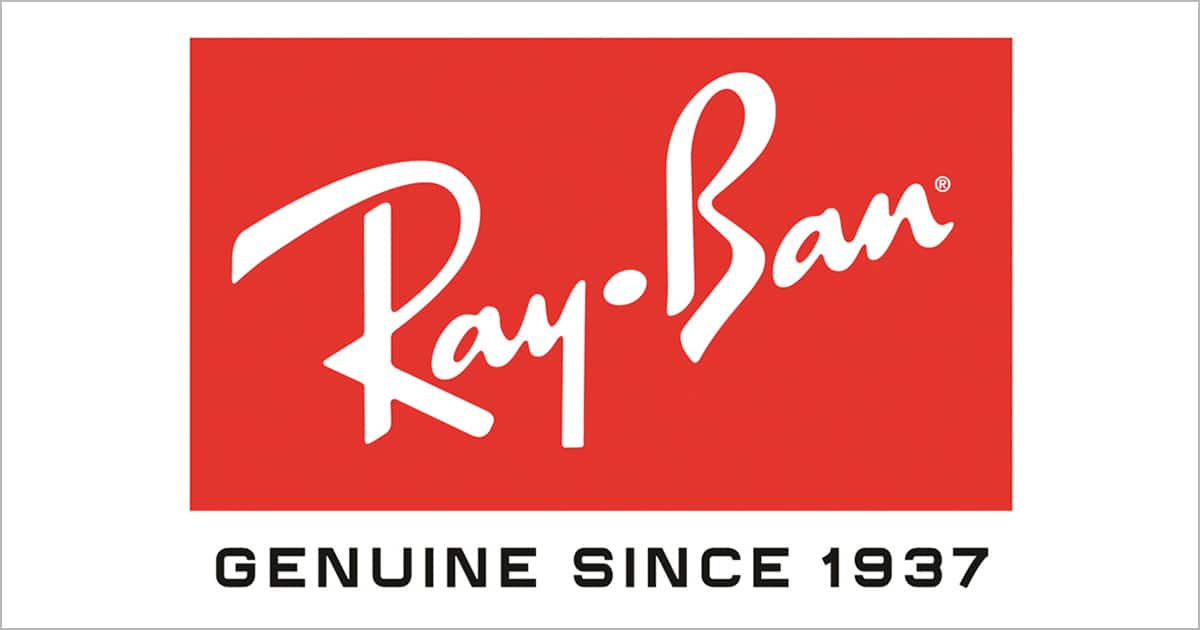 RayBan 50% OFF select style and 20% OFF sitewide
