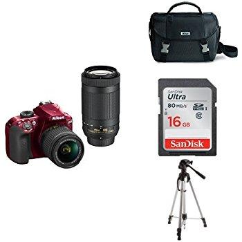 Nikon D3400 2 Lens Kit for $396.95 (Amazon New)